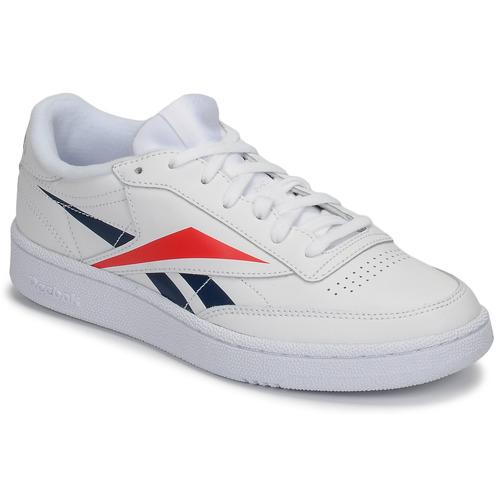 Chaussures Baskets basses Reebok Classic CLUB C 85 MU Blanc