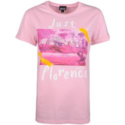 Vêtements Femme T-shirts manches courtes Roberto Cavalli  Rose