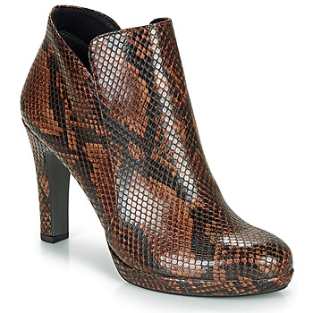 Chaussures Femme Bottines Tamaris LYCORIS Marron / Python