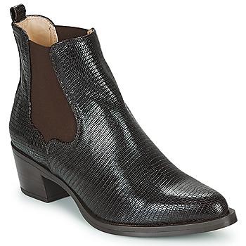Chaussures Femme Bottines Unisa GREYSON Marron