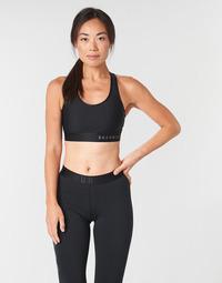 Vêtements Femme Brassières de sport Under Armour ARMOUR MID KEYHOLE BRA Noir