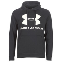 Vêtements Homme Sweats Under Armour RIVAL FLEECE SPORTSTYLE LOGO HOODIE Noir