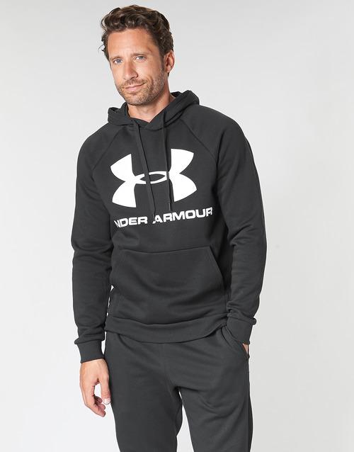 Vêtements Homme Sweats Under Armour RIVAL FLEECE SPORTSTYLE LOGO HOODIE Noir