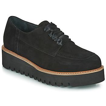 Chaussures Femme Derbies Myma PERLITE Noir