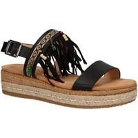 Chaussures Femme Sandales et Nu-pieds MTNG 50042 Negro