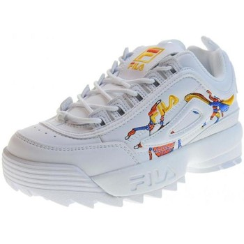 Chaussures Femme Baskets basses Fila DISRUPTOR CALABRONE LOW BLANC