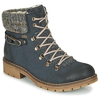 Chaussures Femme Boots Rieker Y9131-16 Bleu