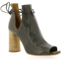 Chaussures Femme Bottines Nuova Riviera Boots cuir laminé Bronze