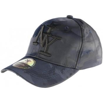 Accessoires textile Homme Casquettes Hip Hop Honour Casquette baseball militaire bleu marine tendance Kaptain Bleu