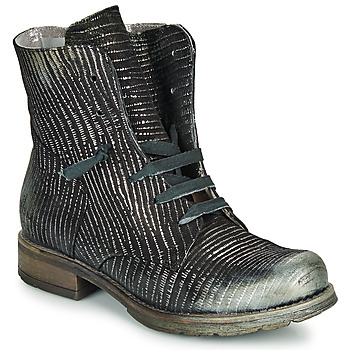 Papucei Marque Boots  Maura Black Silver