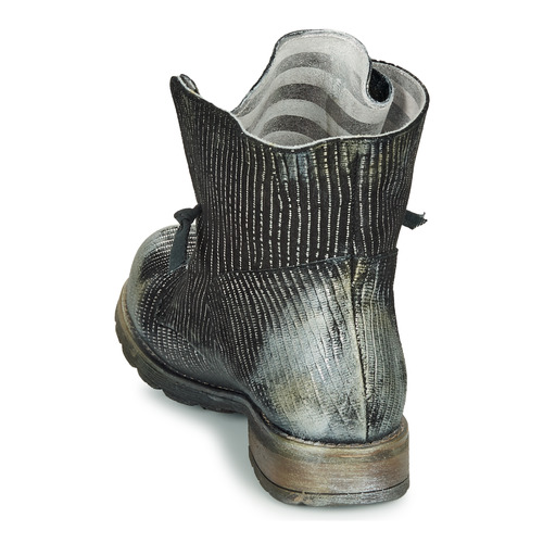 Noir Femme Silver Maura Boots Black Papucei LqpzVSUMG