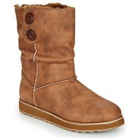 Chaussures Femme Boots Skechers KEEPSAKES 2.0 Camel