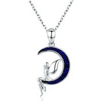 Montres & Bijoux Femme Pendentifs Blue Pearls CRY C2028 J Multicolore