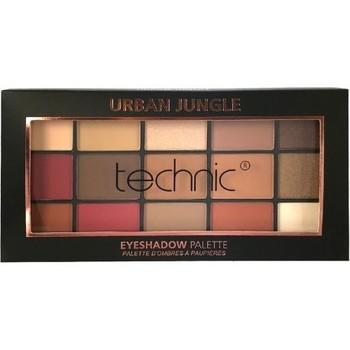 Beauté Femme Palettes maquillage yeux Technic Palette de 15 couleurs pour les yeux Urban jungle Autres