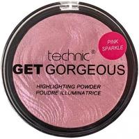 Beauté Femme Enlumineurs Technic Get Gorgeous Poudre Illuminatrice Pink Sparkle   6g Rose