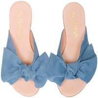 Chaussures Femme Sandales et Nu-pieds By Peppas S CORCEGA Bleu