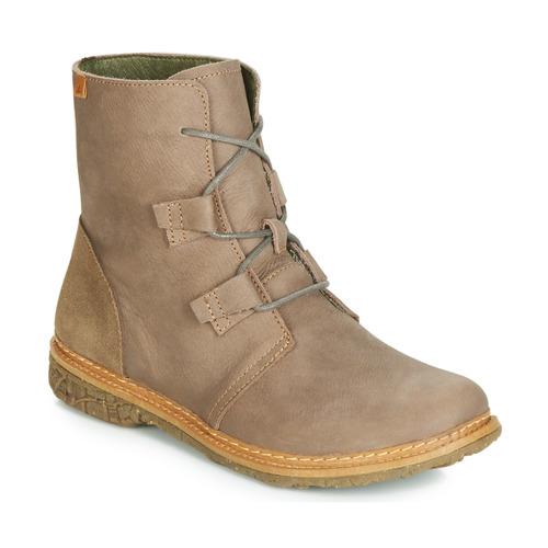 Chaussures Boots El Femme Naturalista Gris Angkor QeEorxCBdW