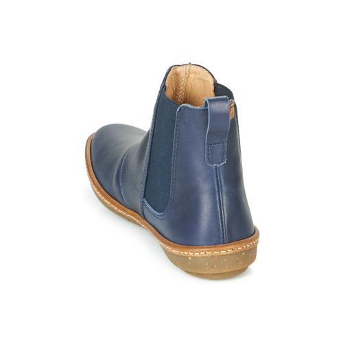 Femme Chaussures El Coral Bleu Naturalista Boots CdBQExorWe