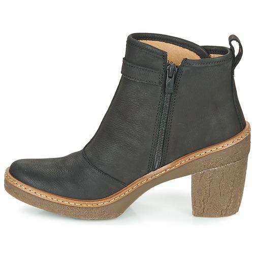 Naturalista Bottines Femme Noir Chaussures El Haya 34ARc5jLq