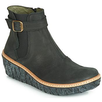 Chaussures Femme Bottines El Naturalista MYTH YGGDRASIL Noir