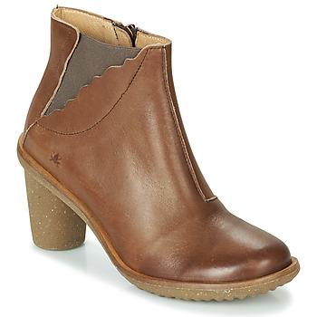 Chaussures Femme Bottes ville El Naturalista TRIVIA Marron