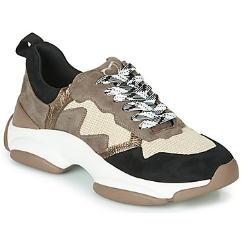 Chaussures Femme Baskets basses Mam'Zelle HELIUM Taupe / Beige