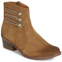 Chaussures Femme Boots Mam'Zelle JUDITH Cognac
