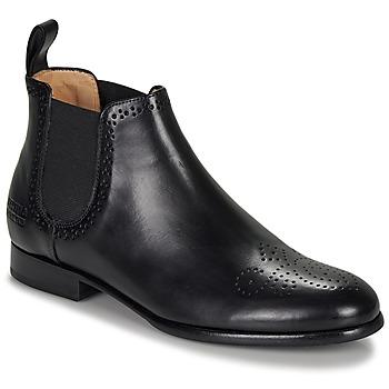 Chaussures Femme Boots Melvin & Hamilton SALLY Noir