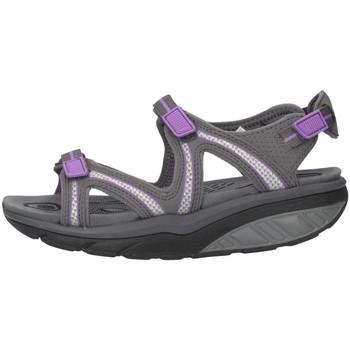 Chaussures Femme Sandales et Nu-pieds Mbt 700667-1304L Sandales Femme Gris / Violet Gris / Violet