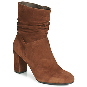 Chaussures Femme Bottines Perlato RIVERA Cognac