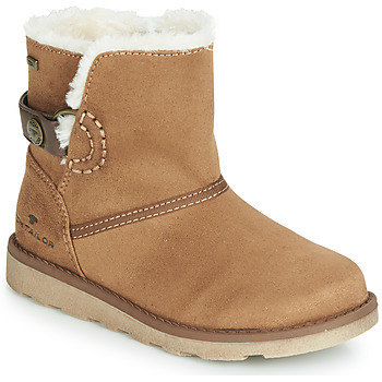 Chaussures Fille Boots Tom Tailor 7020300-CAMEL Camel