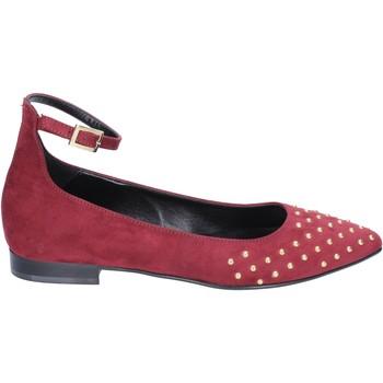 Chaussures Femme Ballerines / babies Olga Rubini ballerines daim bordeaux