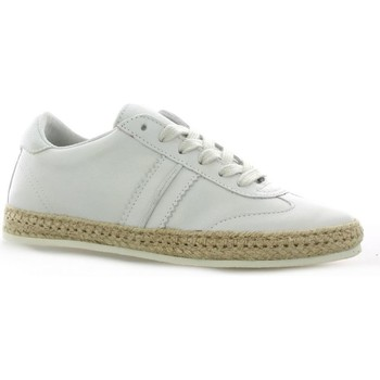 Chaussures Femme Baskets basses Cocktail Baskets cuir Blanc