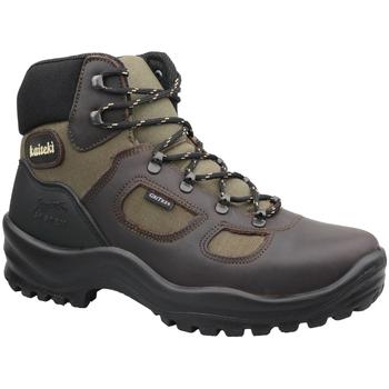 Chaussures Homme Randonnée Kaiteki Marrone 626DV91G