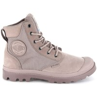 Chaussures Femme Boots Palladium Manufacture Pampa Sport Cuff Wpn Gris