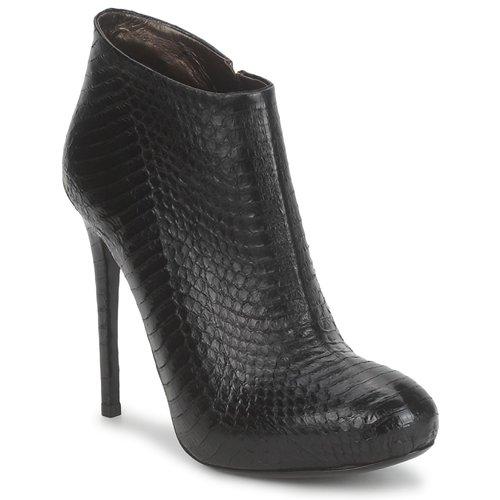 Chaussures Femme Bottines Roberto Cavalli TRONCHETTO Noir