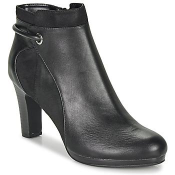 Chaussures Femme Bottines Moony Mood FAZIOME Noir