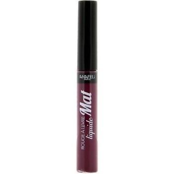 Beauté Femme Rouges à lèvres Anafeli Rouge à lèvres liquide Mat 05   7 ml Violet