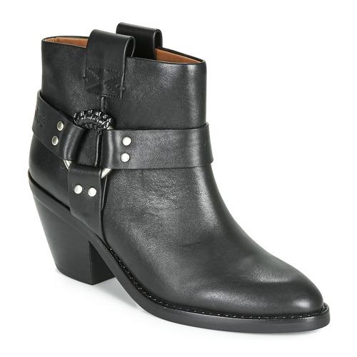 Chaussures Femme Bottines See by Chloé FEDDIE Noir