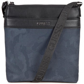 Sacs Homme Pochettes / Sacoches Guess Sacoche Homme CITY HM6595 Noir Camouflage 38