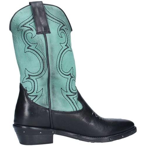 Chaussures Femme Bottines Rep Ko Rca60f Noir / Aquamarine