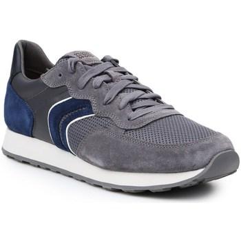 Chaussures Homme Baskets basses Geox U Vincit Gris, Bleu marine