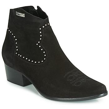 Chaussures Femme Bottines Les Tropéziennes par M Belarbi ASTRID Noir