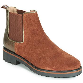 Chaussures Femme Boots Karston ONKIX Marron