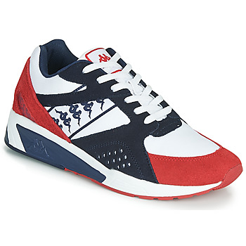 Chaussures Homme Baskets basses Kappa GARKO Blanc / Rouge / Noir