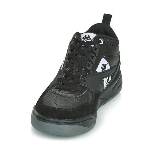 Boris Basses Baskets Chaussures NoirGris Kappa Homme yNnOv8wm0