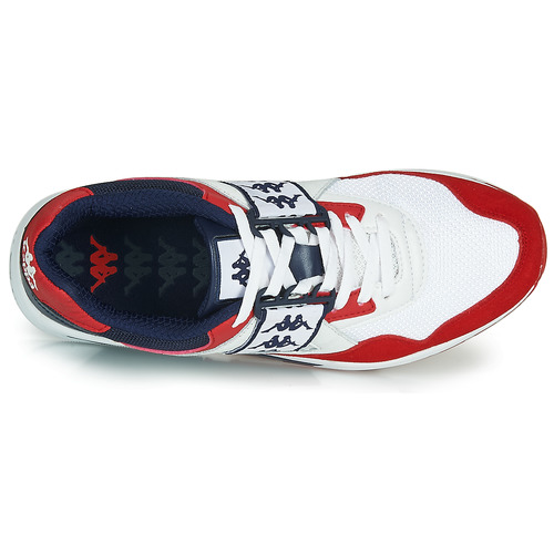 Homme Barsel Chaussures BlancRouge Basses Kappa Baskets 2 QroedCxBW