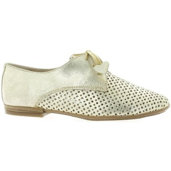 Chaussures Femme Derbies So Send Derby cuir laminé Or