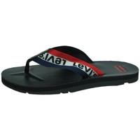Chaussures Homme Claquettes Levi's  Noir