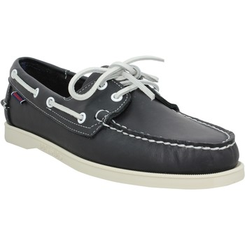 Chaussures Homme Chaussures bateau Sebago Docksides Portland cuir Homme Navy Navy